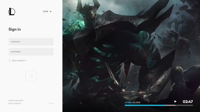 Installing The Updated League Client League Of Legends Support