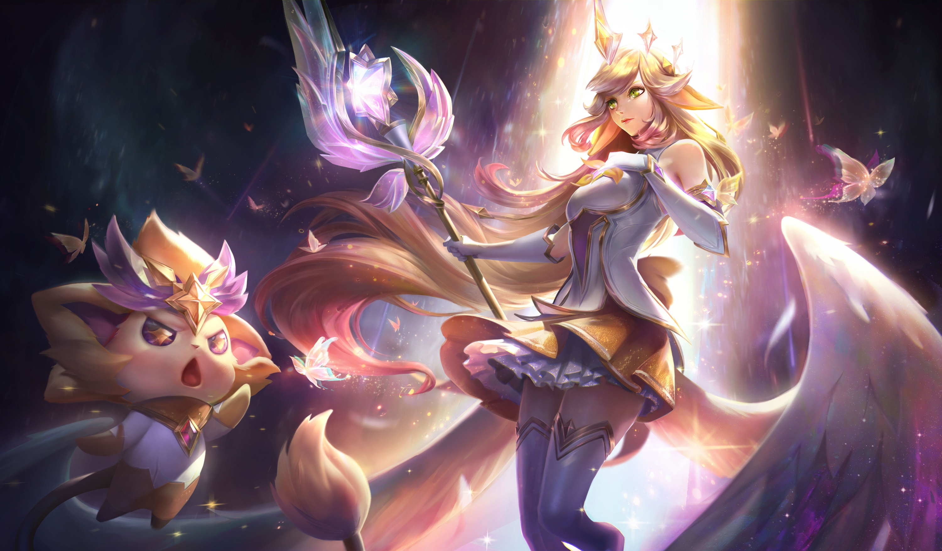 Star Guardian Prestige And Cosmic Skins 2020 League Of Legends League Of Legends Support
